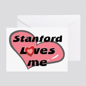 stanford loves me  Greeting Cards (Pk of 10)