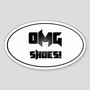OMG Shoes 1.0 Oval Sticker
