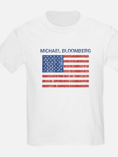 MICHAEL BLOOMBERG (Vintage fl Kids T-Shirt
