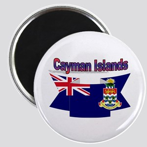 The Cayman flag ribbon Magnet