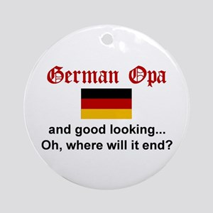 German Opa-Good Lkg Keepsake Ornament