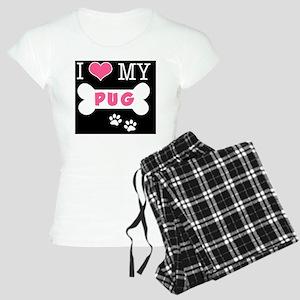 dogboneILOVEMY(carmag) Women's Light Pajamas