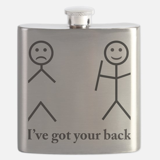 i got your back cu ochi Flask