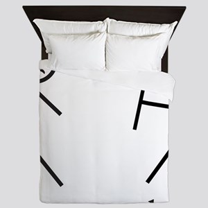 i got your back cu ochi Queen Duvet