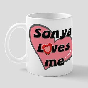 sonya loves me  Mug