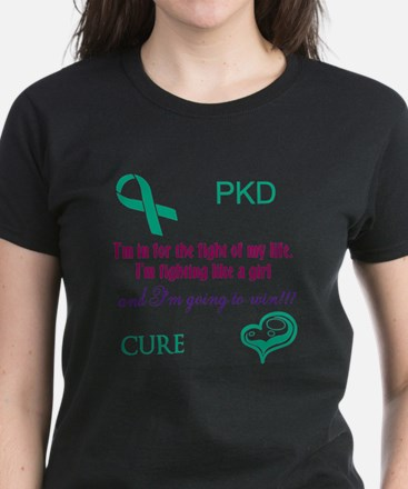 PKD Fight Women's T-Shirt