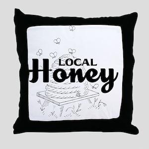 local honey2 Throw Pillow