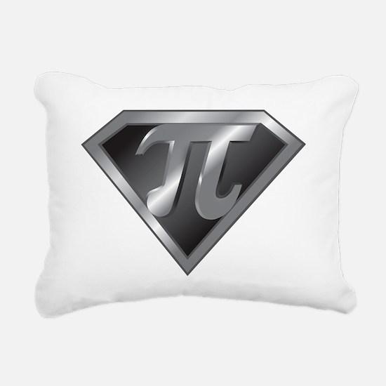 Super Pi - math super he Rectangular Canvas Pillow