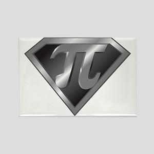 Super Pi - math super hero Rectangle Magnet