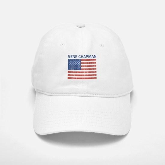 GENE CHAPMAN (Vintage flag) Baseball Baseball Cap