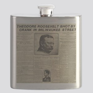 TR SHOT BY CRANK NY HERALD BIG Flask