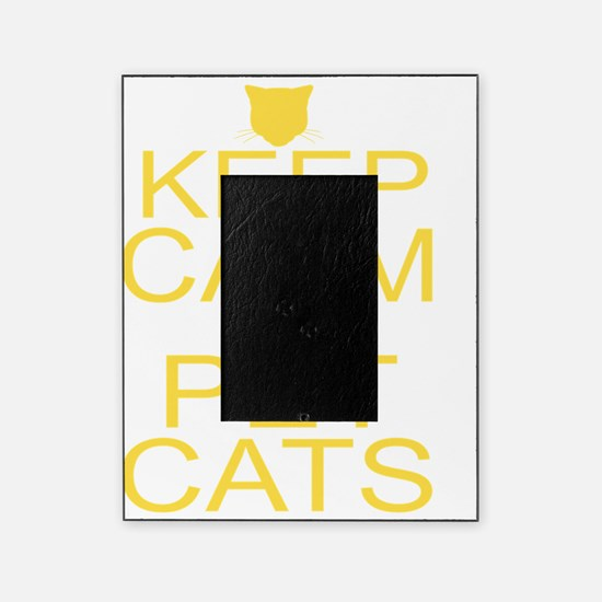 keepCALM-petcats-yllr Picture Frame
