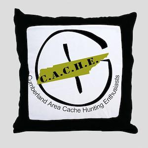 CacheLogo Throw Pillow