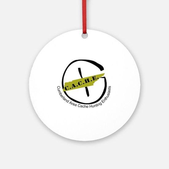 CacheLogo Round Ornament
