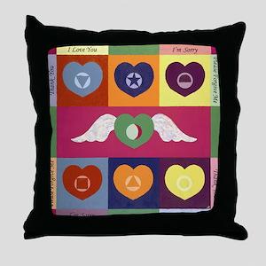 Hooponopono Throw Pillow