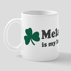 Melany is my lucky charm Mug