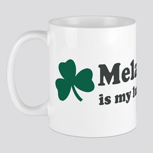 Melany is my lucky charm Mug