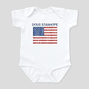 DOUG STANHOPE (Vintage flag) Infant Bodysuit
