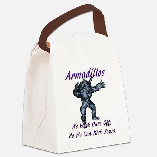 armadillo1 Canvas Lunch Bag