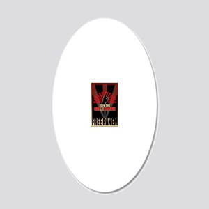 Hunger Games Revolution 2 20x12 Oval Wall Decal