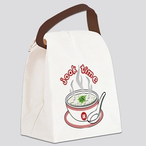 Jook Time Canvas Lunch Bag