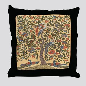 queentree Throw Pillow