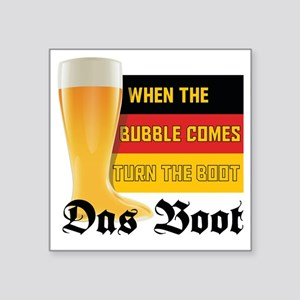 "das_boot Square Sticker 3"" x 3"""