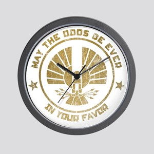 Hunger Games may the odds 2 Wall Clock