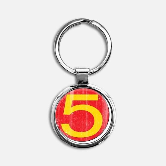 M5_merch Round Keychain