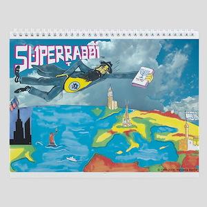 Superrabbi Wall Calendar