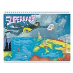 Superrabbi Wall Calendar