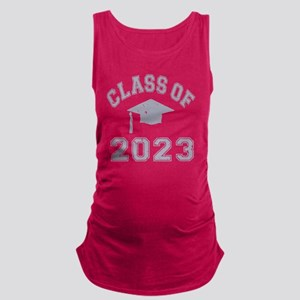 Class Of 2023 Graduation - Grey Maternity Tank Top
