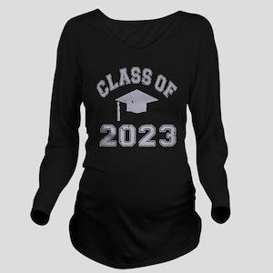 Class Of 2023 Gradua Long Sleeve Maternity T-Shirt
