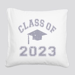 Class Of 2023 Graduation - Gr Square Canvas Pillow