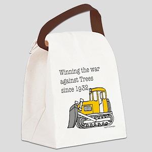 bulldoze new Canvas Lunch Bag