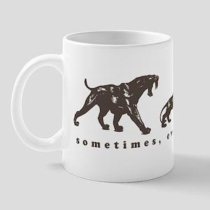 evolution sucks Mug