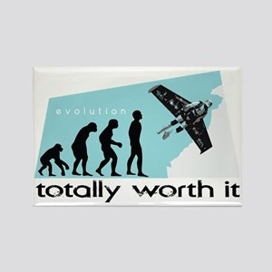 worth it Rectangle Magnet