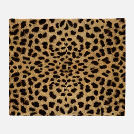 leopardprint4000 Throw Blanket