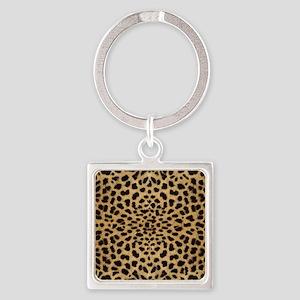 leopardprint4000 Square Keychain