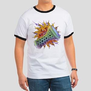 Rainbow Tribal Doumbek T-Shirt