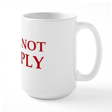 anti obama I will not complybump Large Mug