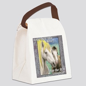 horsemnbT Canvas Lunch Bag