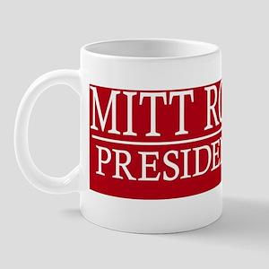 Bumper Mitt Romney Mug