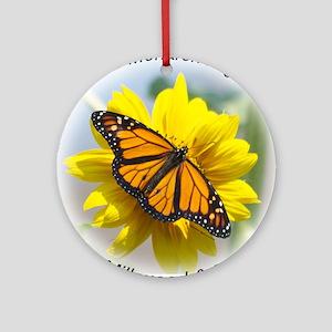 9x7.5_mpad monarch 315 Round Ornament