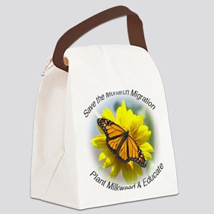 9x7.5_mpad monarch 315 Canvas Lunch Bag