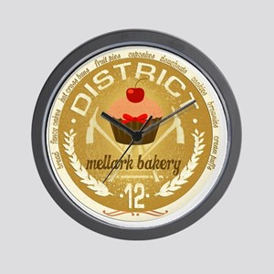 mellark bakery antique seal hunger game Wall Clock