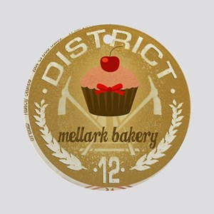 mellark bakery antique for buttons  Round Ornament