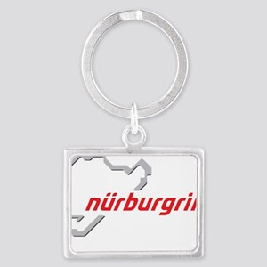 nurburgring map real Landscape Keychain