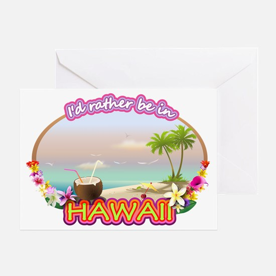 HAWAII 2 Greeting Card