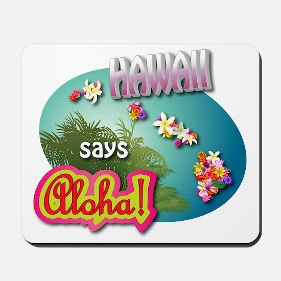 HAWAII 3 Mousepad
